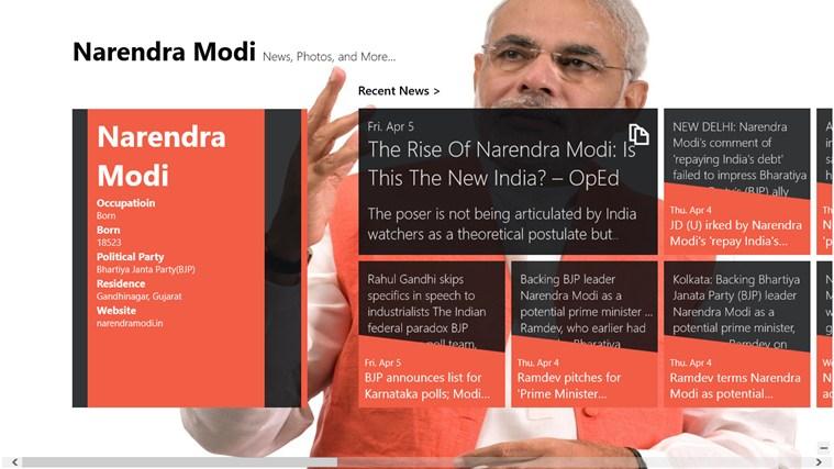 The Narendra Modi screen shot 0
