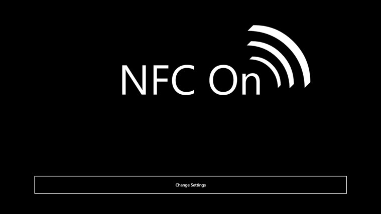 NFC Business Card screen shot 0