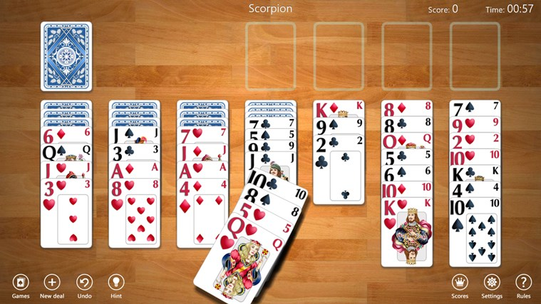 Spider Solitaire Collection Free screen shot 2