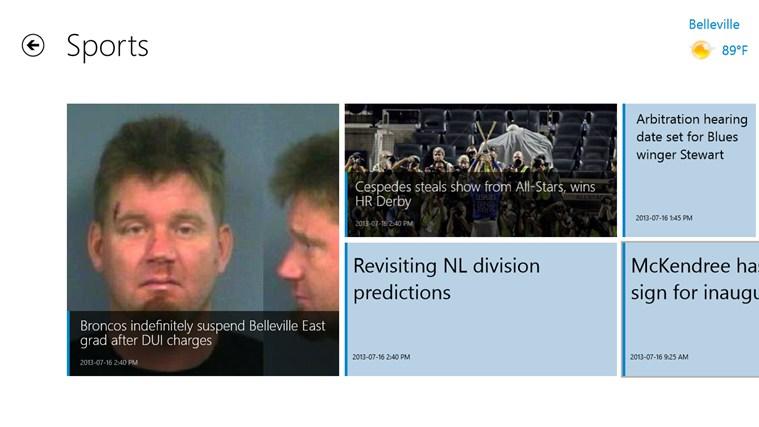 Belleville News-Democrat screen shot 4