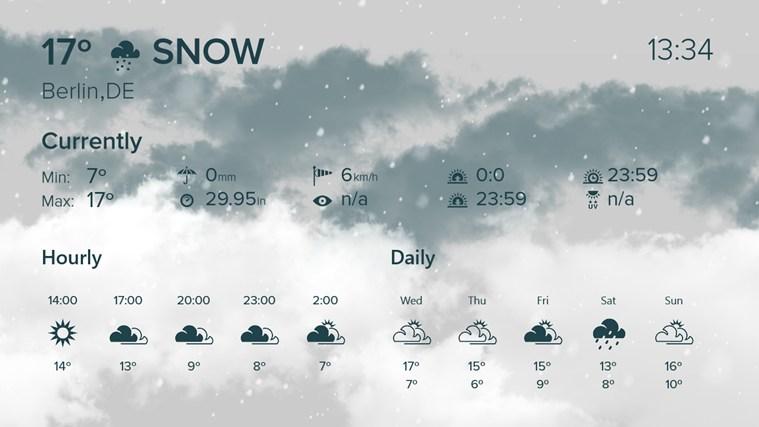 WeatherFlow screen shot 2