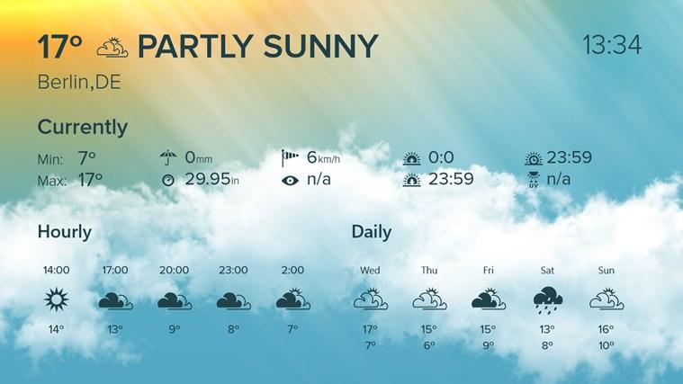 WeatherFlow screen shot 4
