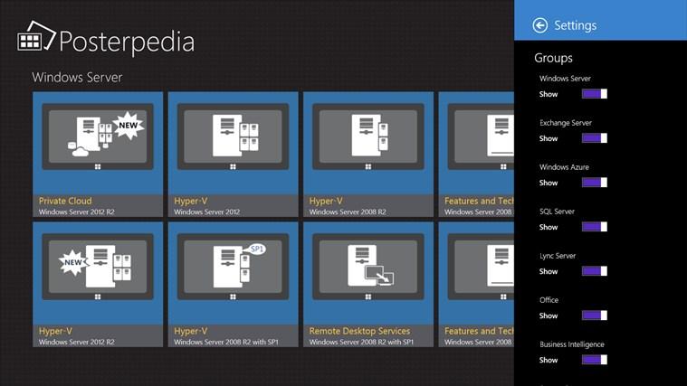Posterpedia screen shot 4