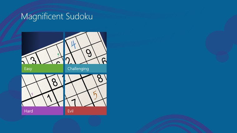 Magnificent Sudoku screen shot 0