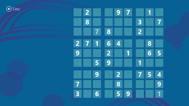 Magnificent Sudoku screen shot 2