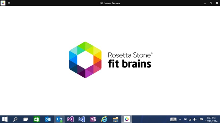 Fit brains trainer app for windows in the windows store
