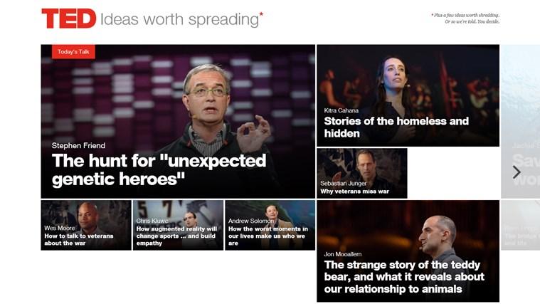 TED screen shot 0
