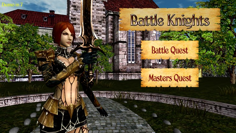 Battle Knights Windows 8 Game
