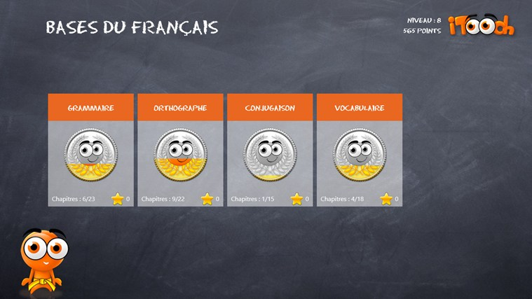 Les Bases du Français screen shot 0
