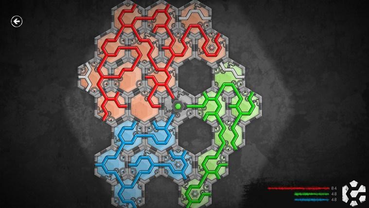 HexaLines snímek obrazovky 0