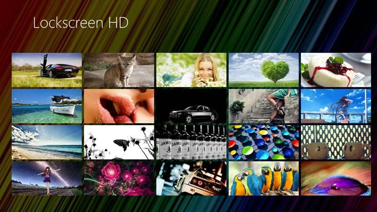 Lockscreen HD full screenshot