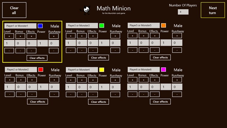 Math Minion petikan skrin 0