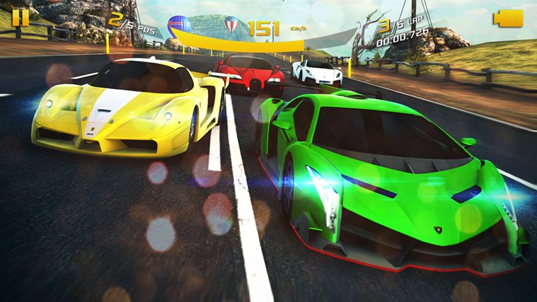 Asphalt 8: Airborne screen shot 0
