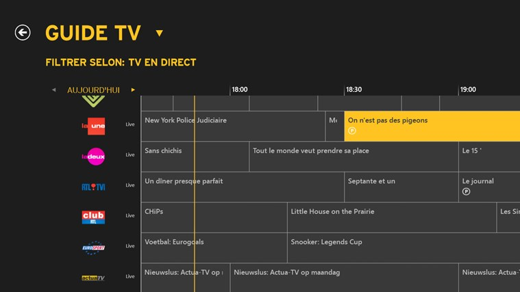 Yelo TV capture d'écran 4