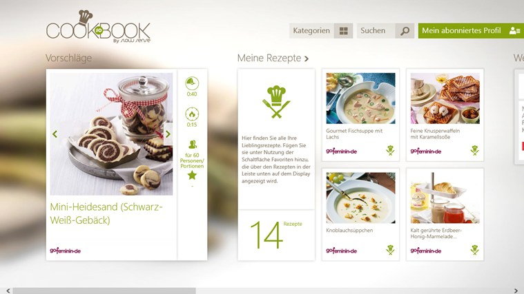 SO COOKBOOK Screenshot 0