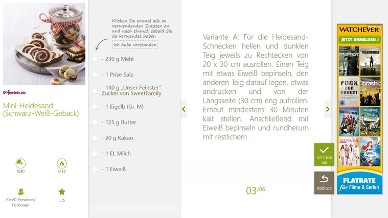 SO COOKBOOK Screenshot 4