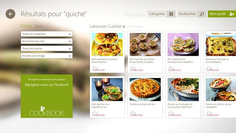 SO COOKBOOK capture d'écran 2