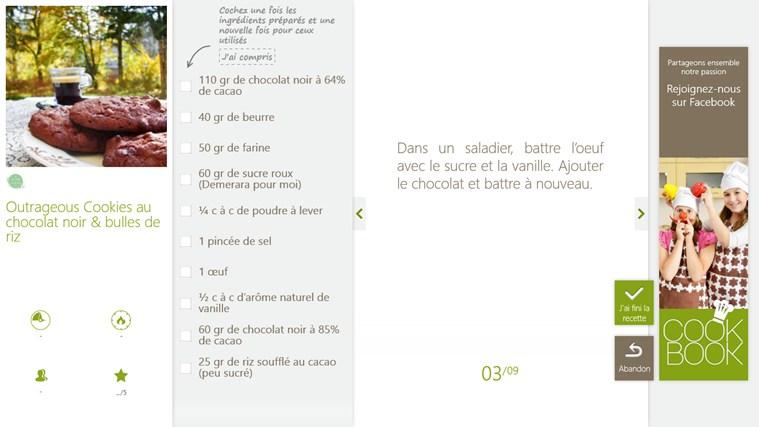 SO COOKBOOK capture d'écran 4