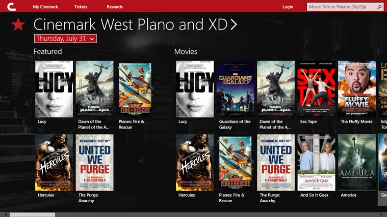 Cinemark Theatres screen shot 0