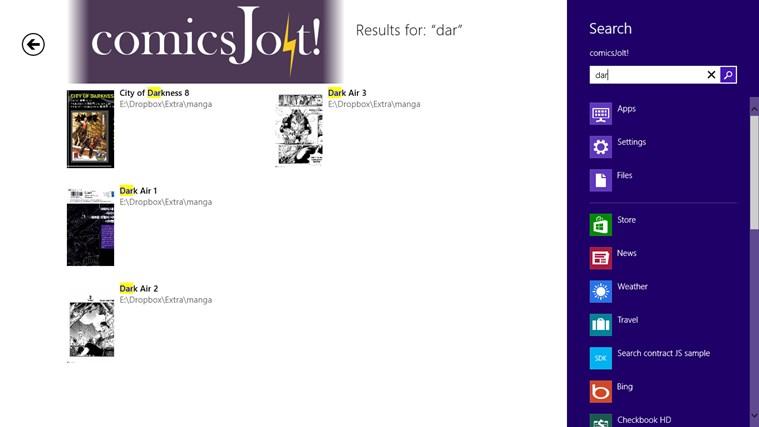 comics Jolt! screen shot 6