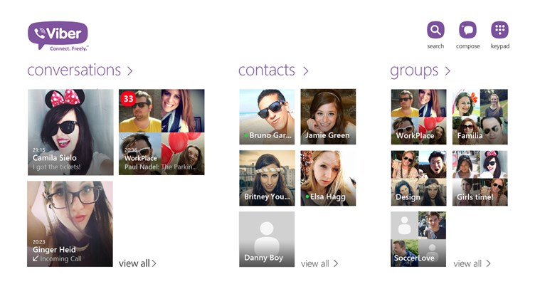 Viber - Free Phone Calls & Text screen shot 0