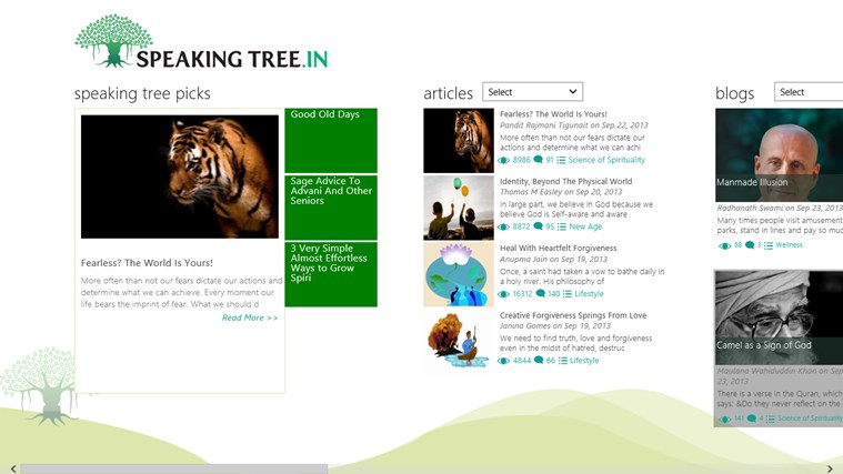 Speaking Tree screen shot 0