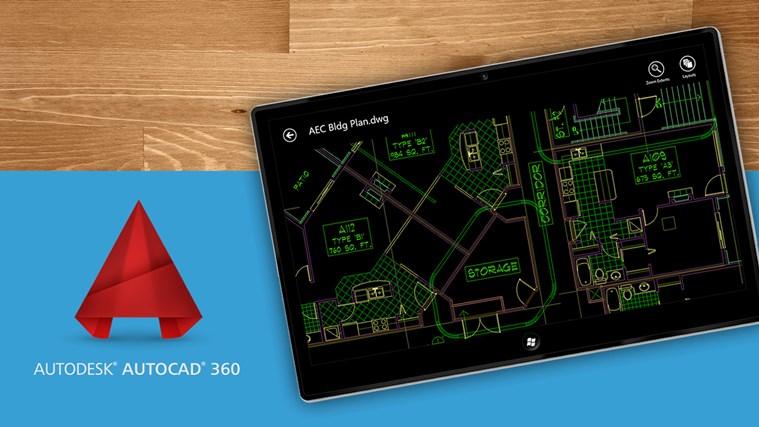 AutoCAD 360 screen shot 0