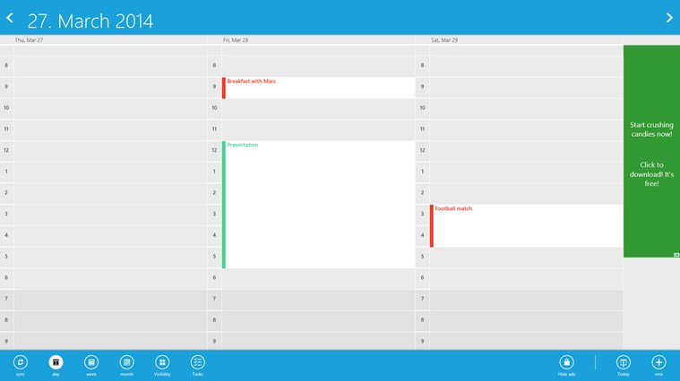gmail calendar screen shot 4