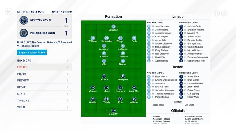 MLS MatchDay screen shot 0