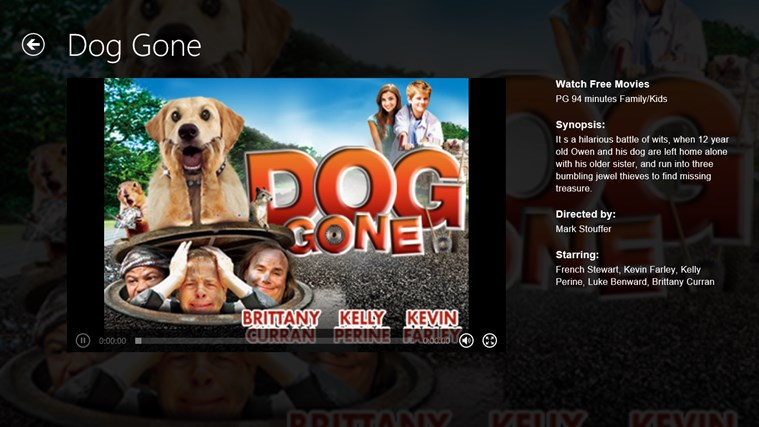 Popcornflix screen shot 4