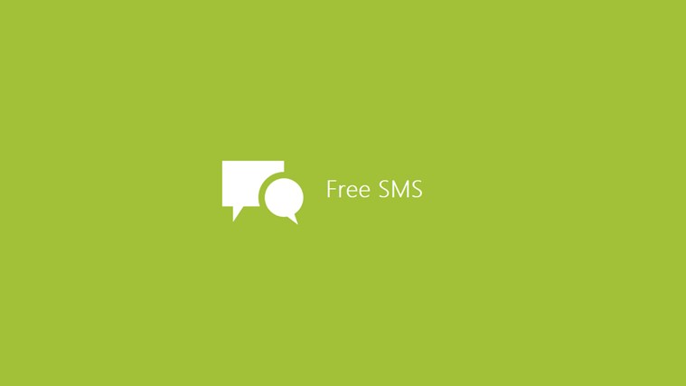 Free SMS screen shot 0