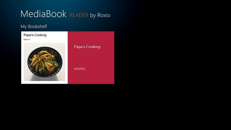 Roxio MediaBook Reader screen shot 0