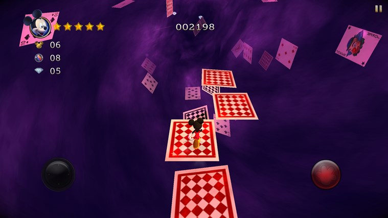 Castle of Illusion Starring Mickey Mouse screen shot 2