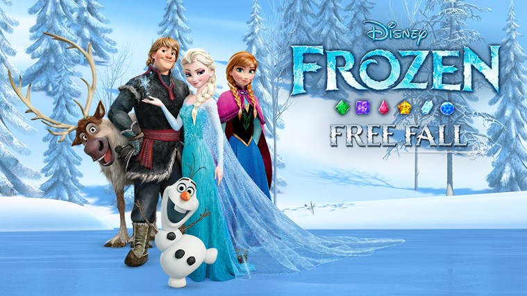 Frozen Free Fall screen shot 4