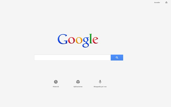 Google Search captura de pantalla 0