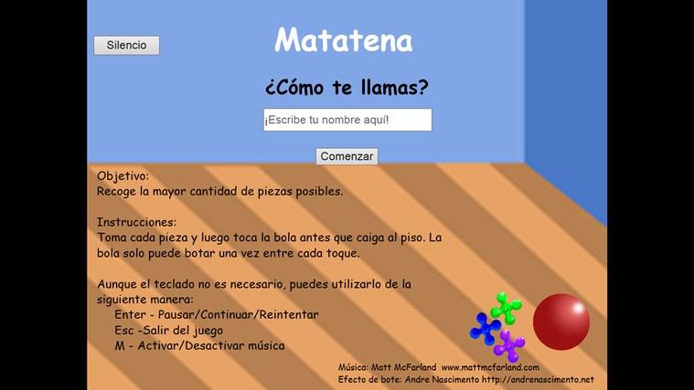 Matatena app for Windows in the Windows Store