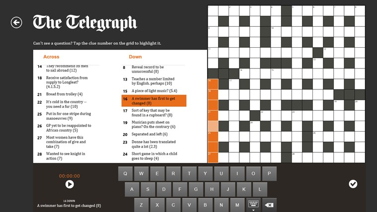The Telegraph screen shot 4