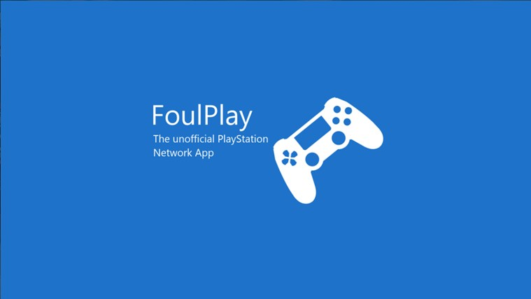 FoulPlay: The Unofficial PlayStation Network App screen shot 0