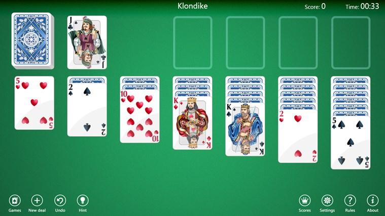 microsoft 4 deck solitaire