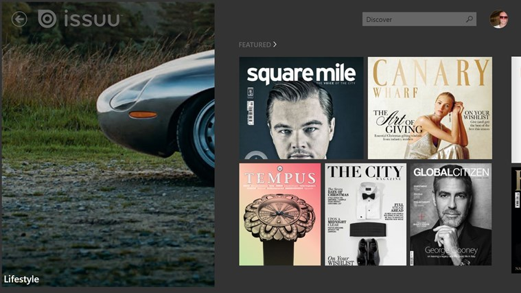 Issuu screen shot 0