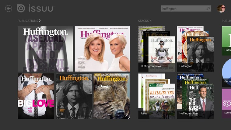 Issuu screen shot 2