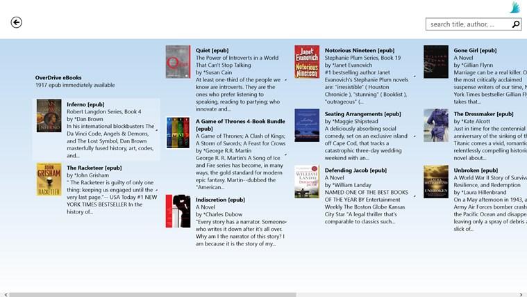 Darien Library screen shot 2