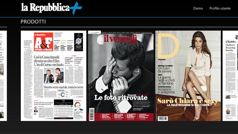 La Repubblica+ cattura di schermata 4