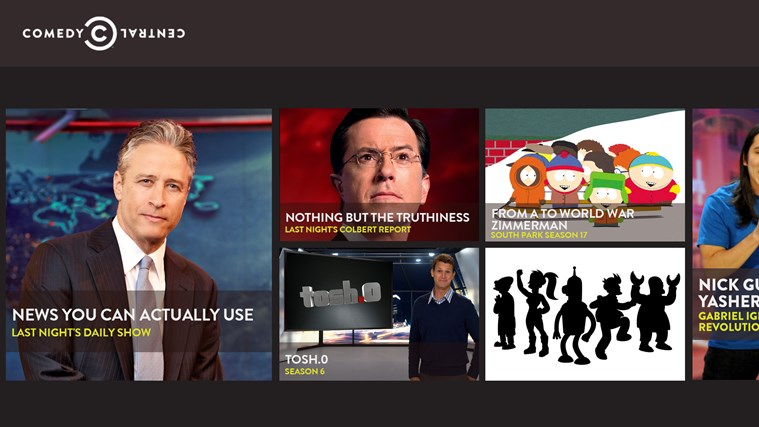 Comedy Central screen shot 0