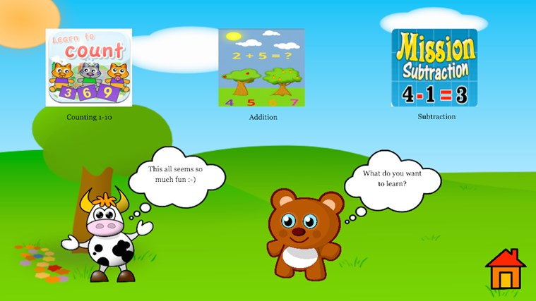 Kindergarten and Preschool learning game screen shot 0