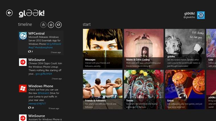 gl??k! for Windows Phone full screenshot