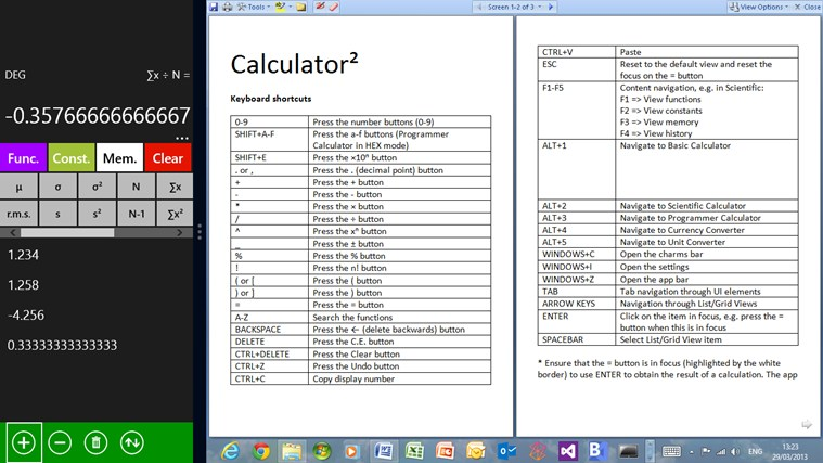 Calculator² screen shot 6