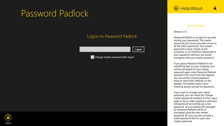 Password Padlock screen shot 6