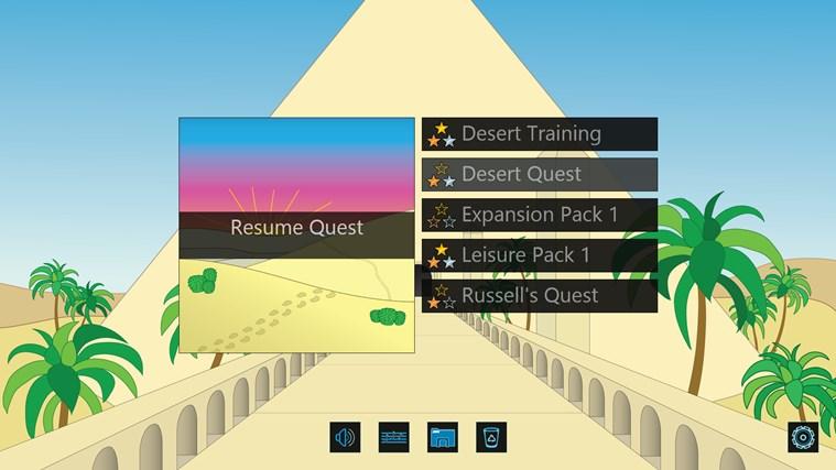 Desert Quest screen shot 6
