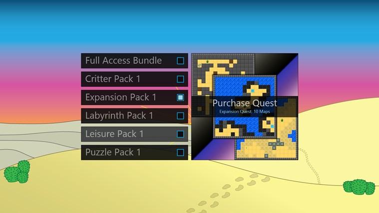 Desert Quest screen shot 8